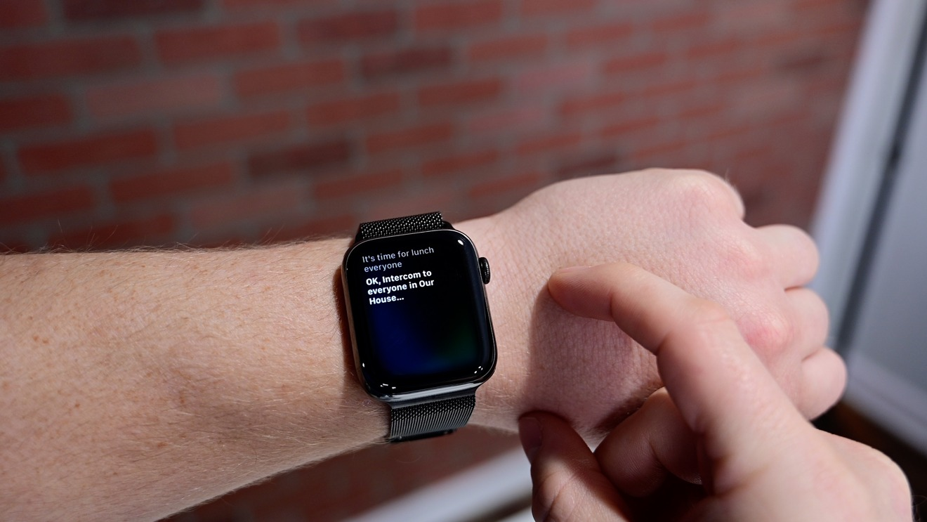 Usar Intercom en Apple Watch