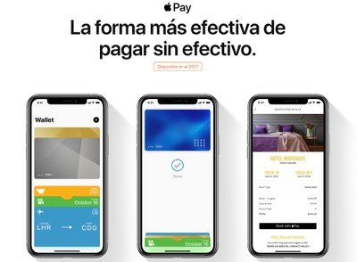 apple pay méxico 2021